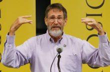 Nobelio premijos laureatą pagerbė neįprastai: rezervavo vietą dviračių stove