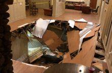Nelaimė JAV: universitete per vakarėlį įgriuvo grindys