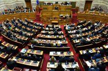 Graikijos parlamentas balsuos dėl susitarimo su Makedonija