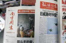 """Kinija siekia """"naujos pasaulio žiniasklaidos tvarkos"""" kritikai slopinti"""