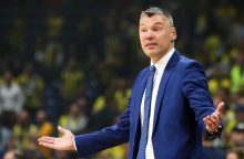 Š. Jasikevičius: svarbu ne tik tai, kad laimėjome, bet ir pasistūmėjome į priekį
