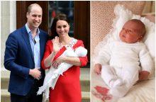 Paskelbta, kada įvyks Didžiosios Britanijos princo Louiso krikštynos