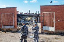 Galingą sprogimą garaže Panevėžyje sukėlė dujų įrangos remontas