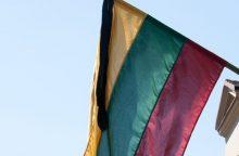 Šilutės rajone išniekinta valstybės vėliava: vandalai išmetė į šiukšlių dėžę