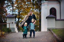 Futbolininko D. Česnauskio žmona pagimdė trečią vaiką