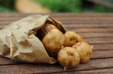 Kuo pavojingos pažaliavusios bulvės?
