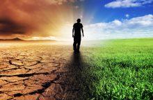 Kaip kovoti su klimato kaita, priklauso nuo to, kas esate