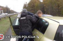 Sostinėje Gruzijos piliečiai įkliuvo su narkotikais: dviem iš jų nepasisekė labiau