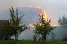 Dėl gaisro Radviliškyje pradėtas ikiteisminis tyrimas
