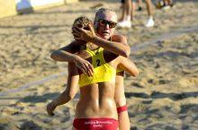 Lietuvos tinklininkės Europos čempionatą pradėjo nesėkme