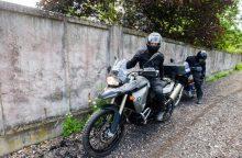 Motociklininkai leidosi į kultūrinę kelionę po Kauno apylinkes