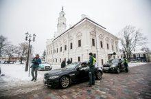 Kitoks reidas Kaune: ne bausti, o apdovanoti