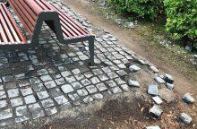 Po Šventojo Tėvo vizito Kaune – nemalonus vaizdas Santakos parke