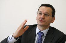 Lenkijoje paskirtas finansų superministras