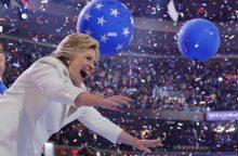 H. Clinton – nepalaužta ir nepalaužiama istorinė ponia