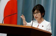 Kinija perspėja Japoniją nežaisti su ugnimi
