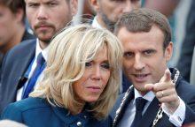 B. Macron suteiktos oficialios pareigos prezidentūroje