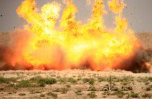 """Irake per """"Islamo valstybės"""" mirtininkų ataką žuvo septyni kariai"""