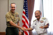 Amerika gintų Japoniją nuo Šiaurės Korėjos atakų