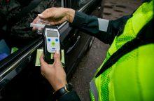 Per savaitę sostinės pareigūnams įkliuvo 27 neblaivūs vairuotojai
