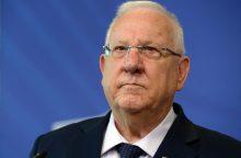 Izraelio prezidentas: negalima reabilituoti ir garbinti antisemitų