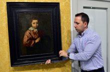 """Už liūdnų akių """"Mergaitės portretą"""" – 8 mln. eurų"""