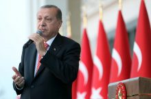 Turkijos prezidentas Vokietijos turkams: nebalsuokite už priešus
