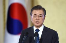 Pietų Korėjos prezidentas: užkirsiu kelią karui bet kokia kaina