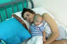Ištikta komos pagimdžiusi argentinietė pagaliau pamatė sūnų
