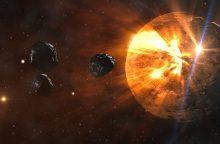 Ar NASA siekia apsisaugoti nuo susidūrimų su asteroidais?