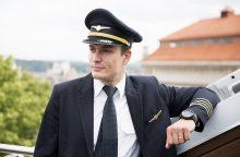Kapitonas: jei skrydžio metu pilotas skaito laikraštį – viskas puiku