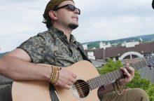 Naują programą pristatantis D. Razauskas: pasiilgau gero gitarinio garso