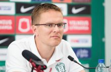 """Istorijos pabaiga: V. Dambrauskas paliko Vilniaus """"Žalgirį"""""""