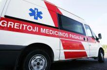 "Avarija kelyje ""Via Baltica"": sužeisti du žmonės"