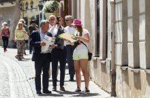 Vilnių šiemet aplankė daugiau turistų