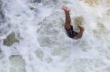 Kriminalas Josvainiuose: vyras nuskendo, brisdamas per Šušvę, ar buvo nuskandintas?