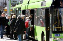 Daugiavaikėms šeimoms – viešasis transportas už simbolinį mokestį