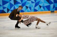 Lietuvos čiuožėjai išmėgins Maskvos ledą