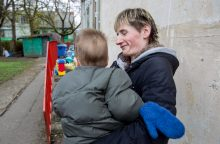 Neįgalios motinos likimas
