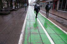 Kada pagaliau dviratininkai ir pėstieji turės normalius takus