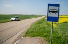 Ražiškiečiai – neviltyje: į kaimą nebeužsuka joks viešasis transportas