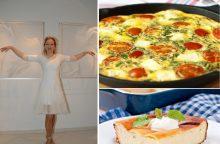 J. Šmidtienę vyras lepina sekmadienio pusryčiais <span style=color:red;>(receptai)</span>