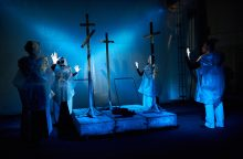 Ukrainos karo aidai – teatro scenoje