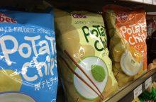 Japoniją kankina bulvių traškučių deficitas