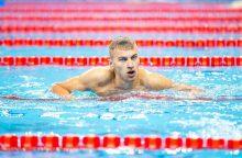 Plaukikas A. Šidlauskas – šeštas pasaulyje