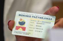 Klaipėdos moksleiviams – elektroniniai pažymėjimai