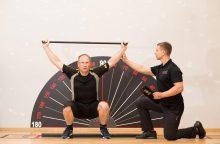 Kartu su medikais ir kineziterapeutais sukūrė naują treniruočių metodiką