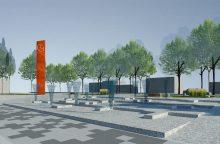 Bus rekonstruojama Šventosios centrinė aikštė