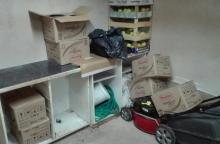Kontrabandą kretingiškis laikė sugyventinės namuose