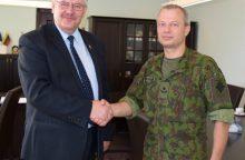Pratęsta Klaipėdos rajono savivaldybės ir kariškių bendradarbiavimo sutartis